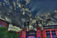 Sunbeam over Ballpark
