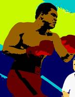 Muhammed Ali THE GREATEST Shadow Color