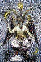 Baphomet weird scary scene Amazing Montage Mosaic