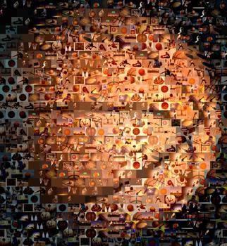 Basketball Amazing Montage Mosaic Must See By Paul Van Scott