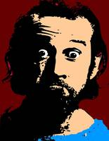 George Carlin Shadow Color