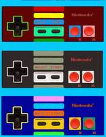 Nintendo original Controller Shadow Color