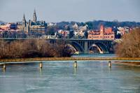 Georgetown, Frozen in January