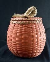 Theresa Second Hoffman, Penobscot Pumpkin Basket,