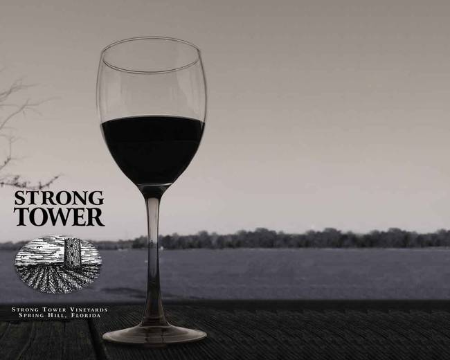 Strong Tower Vineyards Logo