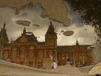 Reflections of Amsterdam - Central Station
