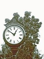 Old Greenwhich clock