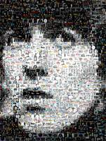 George Harrison...Amazing Montage Mosaic illusion