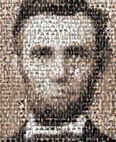Abraham Lincoln...Amazing Montage Mosaic illusion