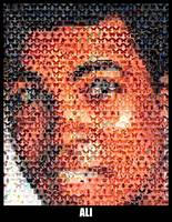 Muhammad Ali...Amazing Montage Mosaic illusion pop