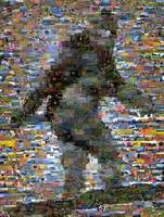 Bigfoot and/Sasquatch...Amazing Montage Mosaic ill