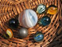 Marbles lost and found
