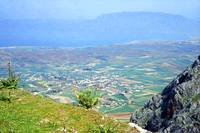 View from the Acrocorinth, Greece by Priscilla Turner