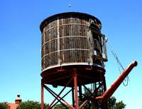 Water Tank at the Stockyards