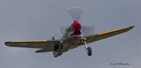 P-40 Kittyhawk Take off