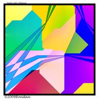 Abstract Design Multi Color