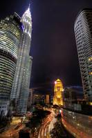 light trail ampang