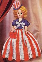 Miss U.S.A., 1952 crochet book (public domain)