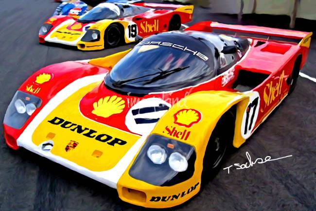 "Porsche 962, ""Lets get ready to rumble"""