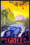 Greece Vintage Travel Poster Posters