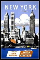 New York Vintage Travel Poster