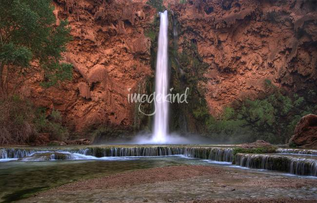 Mooney Falls and Rock Terraces