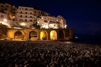 Amalfi Beach with Arches