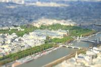 Paris, tiltshift