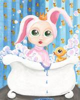 PRINCESS BATHTUB BUNNY