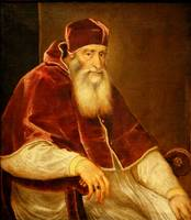 Portrait Pope Paul III