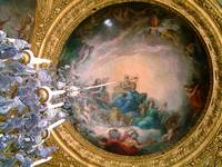 Ceiling at Versailles, France