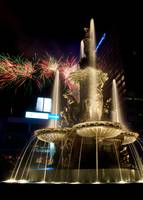 Fountain Square Fireworks