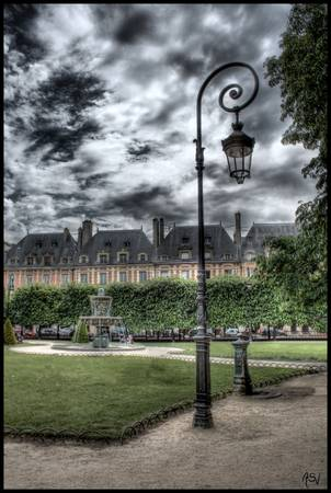 Where Victor Hugo lived HDR by Ayse Selen Varhan