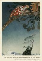 Flitting Away From the Castle by Kay Nielsen