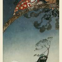 """Flitting Away From the Castle by Kay Nielsen"" by animationarchive"