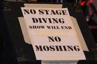 No Stage Diving