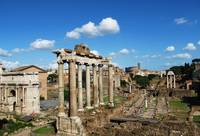 Columns of theTemple of Saturn - Roman Forum