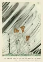 A Snowdrift Carried Them Away by Kay Nielsen