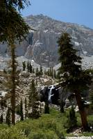 Waterfall, View From Mt. Whitney Trail