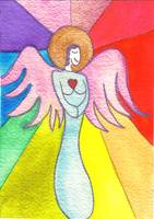 Rainbow Ray Angel