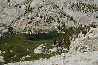 View Of Mirror Lake From Mt. Whitney Trail