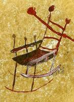 Abstract Rocking Chair II