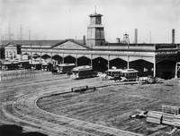 Union Depot and Ferry House, 1877, San Francisco by WorldWide Archive