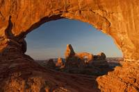 Turret Arch Through the North Window