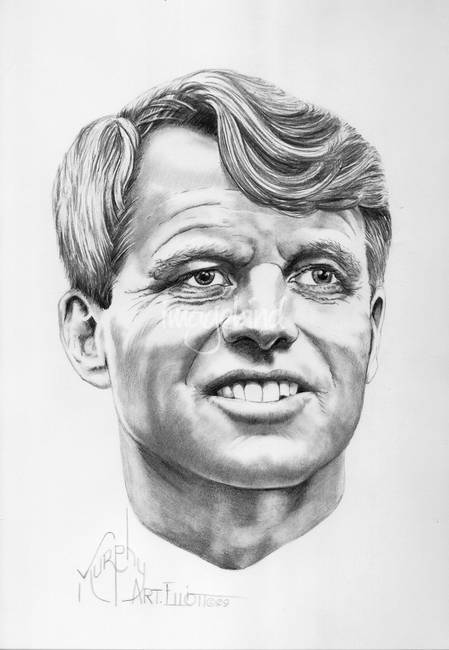 Robert Kennedy by Murphy Art. Elliott