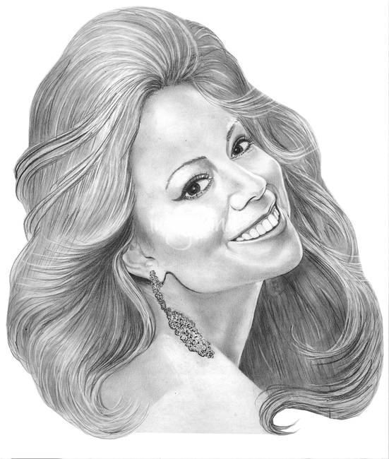 Mariah Carey by Murphy Art. Elliott