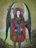 Archangel Michael Keeping the Way of the Tree of L