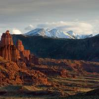 Fisher Towers_TMP4487 Art Prints & Posters by Todd Morton