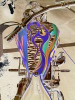 sephia custom motorcycle