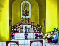 Shrine in the Santa Eduwiges Chapel